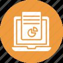online analytics, online graph, online rating, online statistics icon