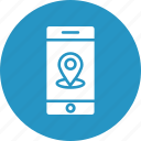 mobile location, location pin, location pointer, gps