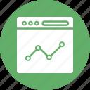 analytic diagram, business analysis, finance graph, graph analysis icon