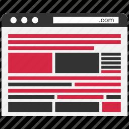 code, developing, program, script icon