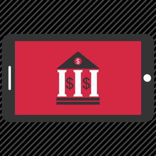bank, banking, mobile bamking, online, online banking, web icon