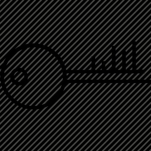 Key, keyword, keyword rank, rank, seo icon - Download on Iconfinder