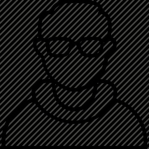 avatar, coder, developer, man, programmer icon