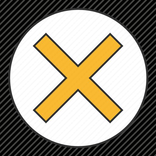 abolition, cancel, cancellation, delete, exit, remove, repeal icon