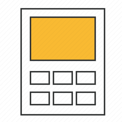 accounting, assessment, calculation, calculator, computing, evaluation, finance icon