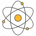 chemistry, education, formula, laboratory, molecula, science, training icon