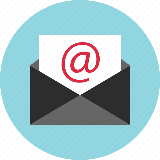 at, connect, email, envelope, mail, messae, sign icon