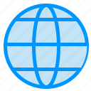 globe, internet, world icon
