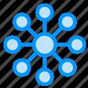 database, server, share icon