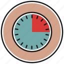 clock, schedule, timer, watch icon