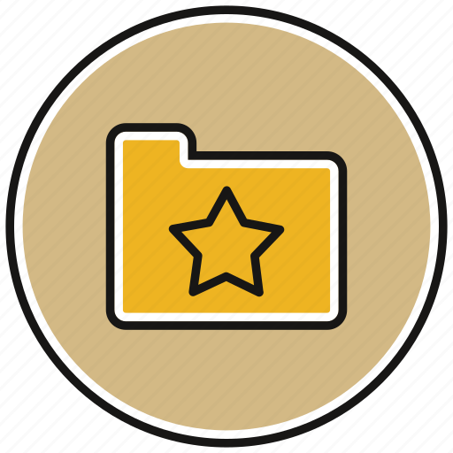 document, documents, file, files, star icon
