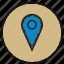 location, map, marker, navigation