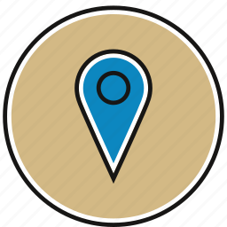 location, map, marker, navigation icon