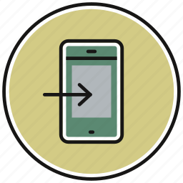 communication, device, phone, smartphone icon