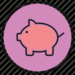 bank, cash, coin, money, save icon