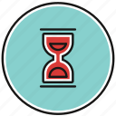 hour, clock, timer, glass, sand, sandglass, hourglass
