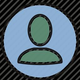 account, avatar, person, profile icon
