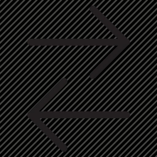arrows, directional arrow, left arrow, navigation arrow, right arrow icon