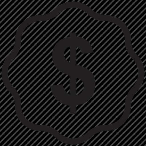dollar, dollar currency, dollar sign, financial icon