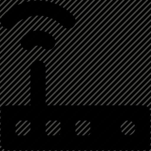 Internet device, wifi signals, wifi router, wireless internet, wifi modem icon
