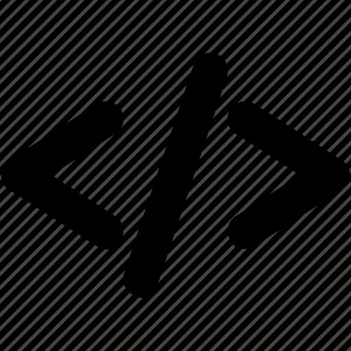 div, html, html coding, programming, web development icon