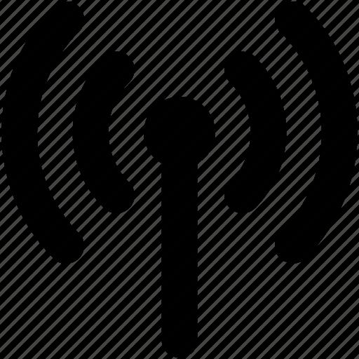 signal tower, wifi, wifi antenna, wifi tower, wireless network icon Wireless Network Connection Symbol
