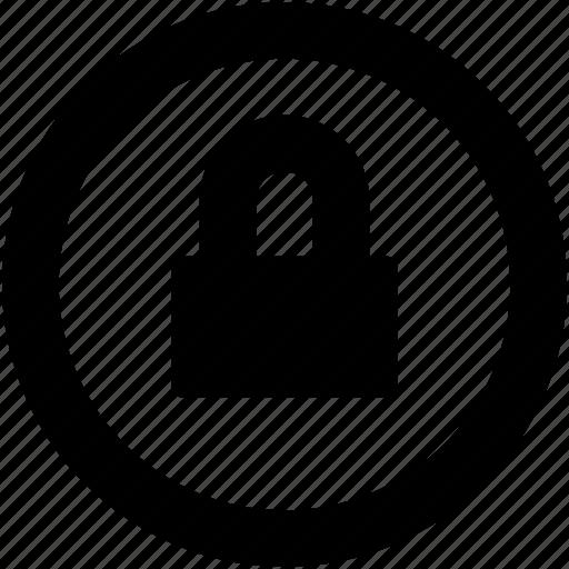 Lock, security, locked, padlock, privacy icon