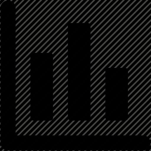 analytics, bar chart, bar graph, business chart, infographics icon