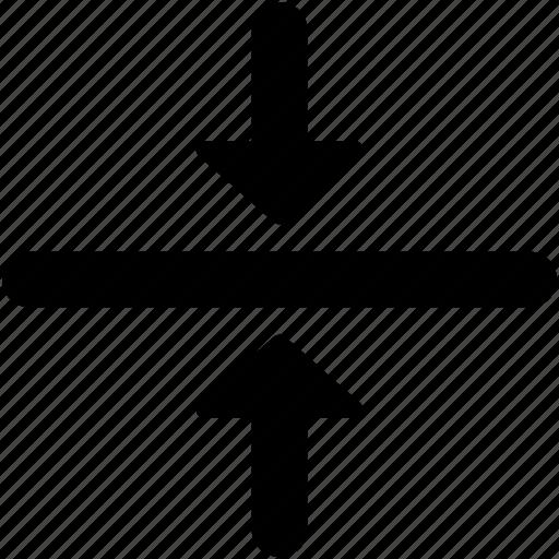 arrow, direction, merge, merge design, merge tool icon