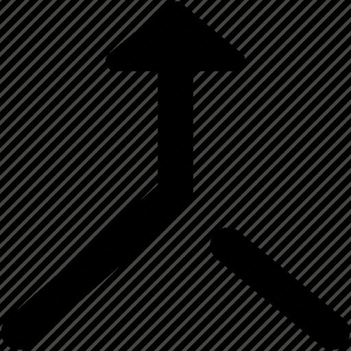 aggregate, aggregate arrow, consolidate, merge arrow, raphael arrow icon
