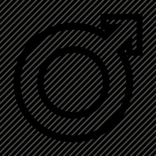 Gender, male, man, sign icon - Download on Iconfinder