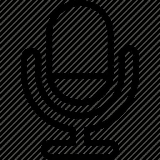 mic, microphone, record, siri, sound, speaker icon