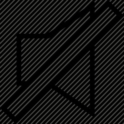 forbidden, music, mute, silence, sound, speaker, volume icon