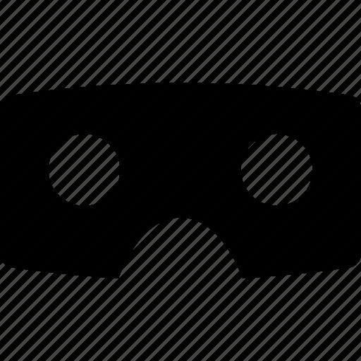cardboard, glasses, reality, virtual, vr icon