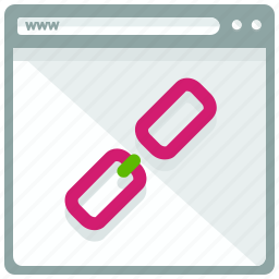 broken, browser, link, web, webpage, website icon