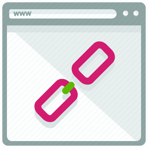 broken, browser, link, page, website icon