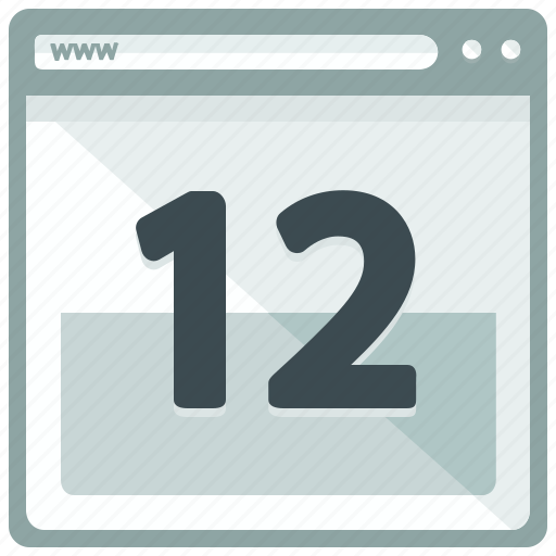 appointment, browser, calendar, date, web, webpage, website icon