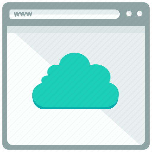 Browser, cloud, website, interface icon - Download on Iconfinder