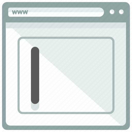 browser, enter, interface, text, website icon