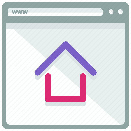 browser, home, web, webpage, website icon
