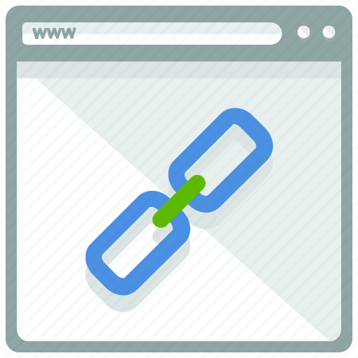 browser, chain, internet, link, web, webpage, website icon