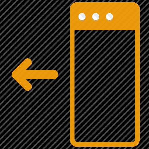 arrow, browser, left, move, web, webpage, website icon