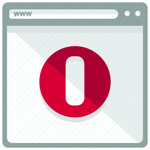 browser, interface, opera, website icon