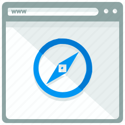 browser, internet, safari, web, webbrowser, webpage, website icon