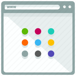 browser, interface, layout, tabs, website icon