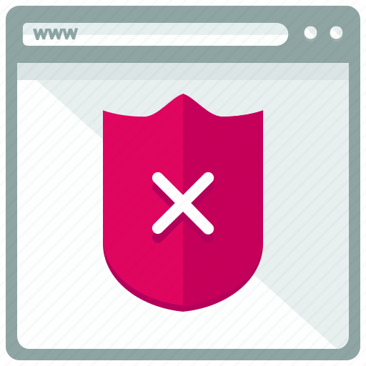 browser, safety, security, unsecured, web, webpage, website icon
