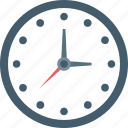clock, time, time keeper, wall clock icon