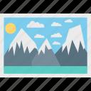 image, landscape, photo, picture icon