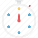 chronometer, stopwatch, time counter, timer icon