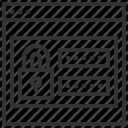 design, password, protection, security, seo, web, website icon